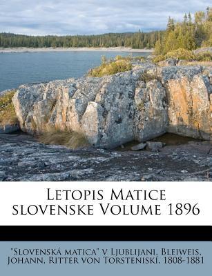 Letopis Matice Slovenske Volume 1896 9781246098716