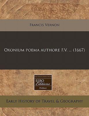 Oxonium Poema Authore F.V. ... (1667)