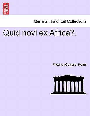 Quid Novi Ex Africa?. 9781241340308