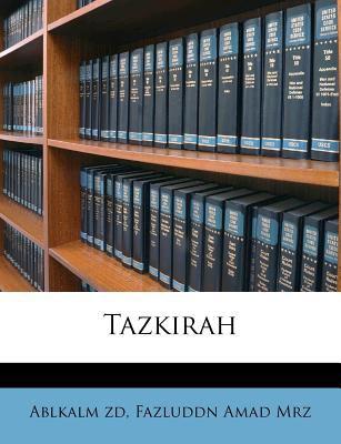 Tazkirah 9781245166843