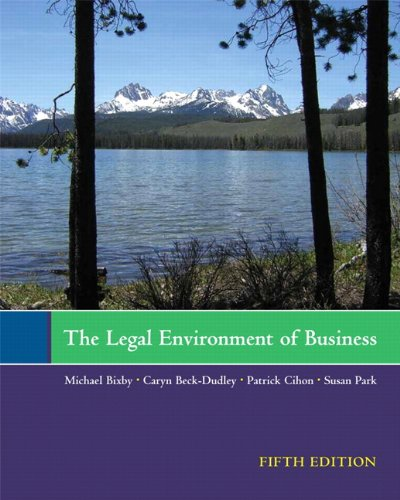 The Legal Environment of Business 9781256159162
