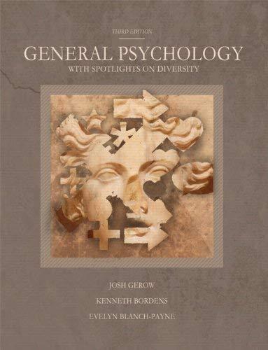 General Psychology with Spotlights on Diversity 9781256366720