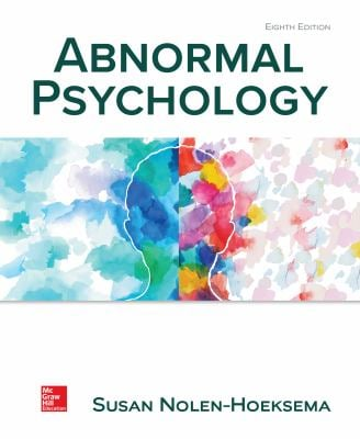 Loose Leaf Abnormal Psychology