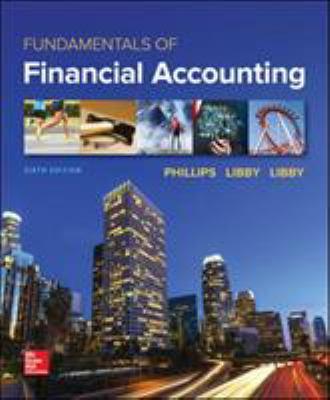 Fundamentals Of Financial Accounting 6Th Edition