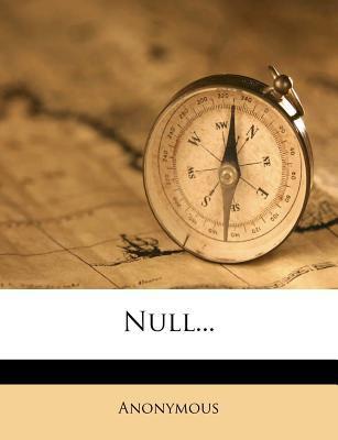 Null... 9781274559975
