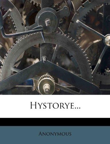 Hystorye... 9781274761262