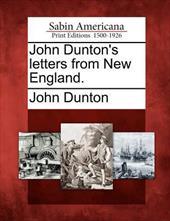 John Dunton's Letters from New England. 17802377