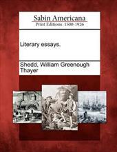 Literary Essays. 17817951