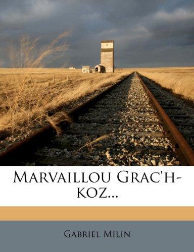 Marvaillou Grac'h-Koz... 9781274078681