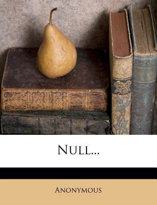 Null... 9781276646673