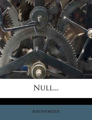 Null... 9781275354883