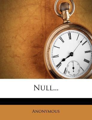 Null... 9781275358294