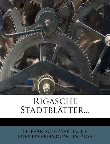 Rigasche Stadtbl Tter... 9781277074765