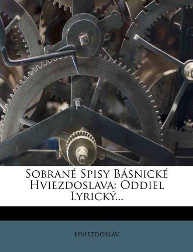 Sobrane Spisy Basnicke Hviezdoslava: Oddiel Lyricky...