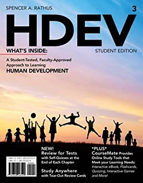 HDEV (with Psychology CourseMate with eBook Printed Access Card) 9781285057224