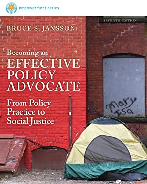 Brooks/Cole Empowerment Series: Becoming an Effective Policy Advocate 9781285064079
