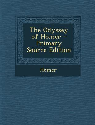 The Odyssey of Homer (Ancient Greek Edition)