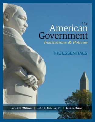 American Government, Essentials Edition - 14th Edition
