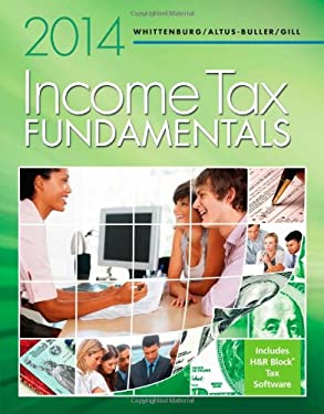 Income Tax Fundamentals 2014 (with H&R Block at Home CD-ROM) 9781285424545