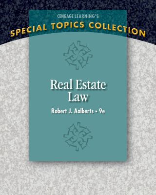 Real Estate Law 9781285428765