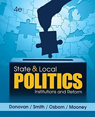 State and Local Politics: Institutions and Reform 9781285441405