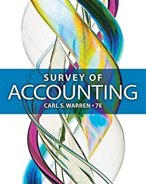 Survey of Accounting 9781285183480