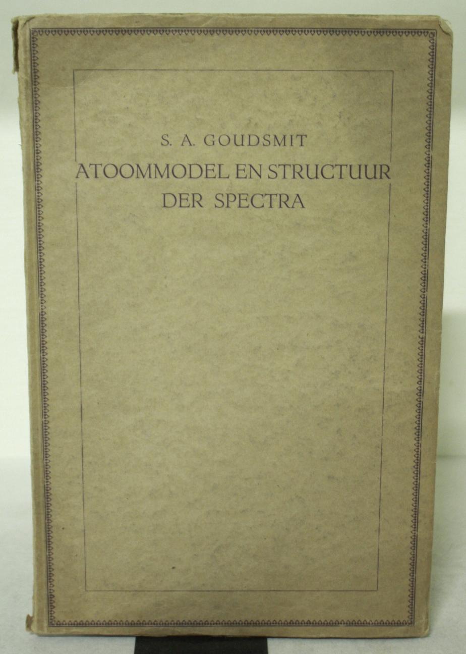 Atoommodel en Structuur der Spectra BWB13074439