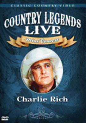 Charlie Rich: Country Legends Live Mini Concert