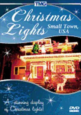 Christmas Lights Small Town, USA