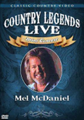 Mel McDaniel: Country Legends Live Mini Concert
