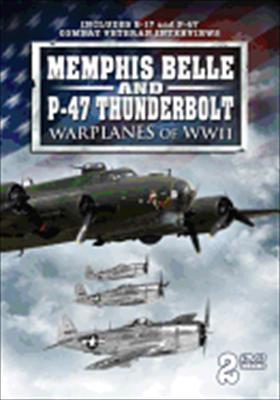 Memphis Belle & P-47 Thunderbolt Warplanes of WWII
