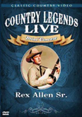 Rex Allen Sr.: Country Legends Live Mini Concert