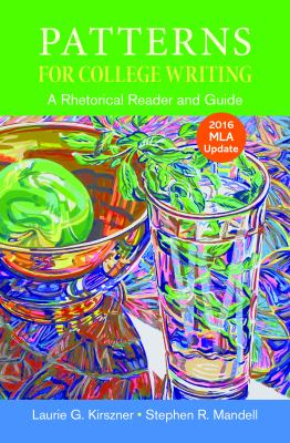 Patterns for College Writing with 2016 MLA Update - 13th Edition