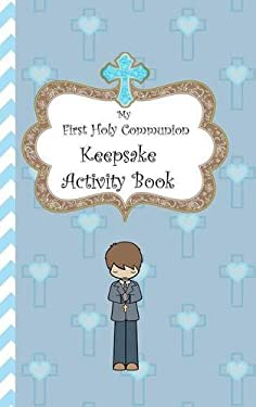 My First Holy Communion Keepsake Activity Book
