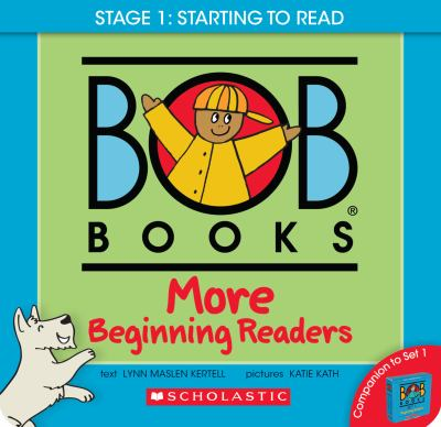 Bob Books - More Beginning Readers Box Set | Phonics, Ages 4 and up, Kindergarten (Stage 1: Starting to Read)