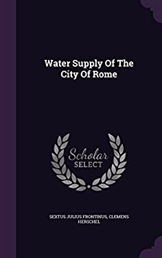 Water Supply of the City of Rome