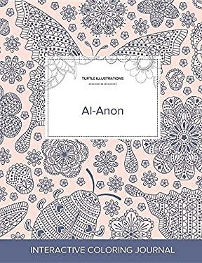 Adult Coloring Journal: Al-Anon (Turtle Illustrations, Ladybug)