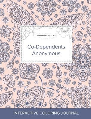 Adult Coloring Journal: Co-Dependents Anonymous (Safari Illustrations, Ladybug)