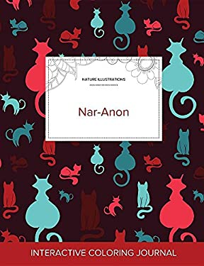 Adult Coloring Journal: Nar-Anon (Nature Illustrations, Cats)