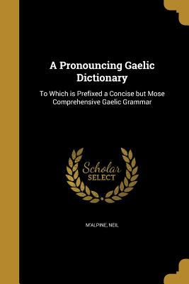 A Pronouncing Gaelic Dictionary: To Which Is Prefixed a Concise But Mose Comprehensive Gaelic Grammar