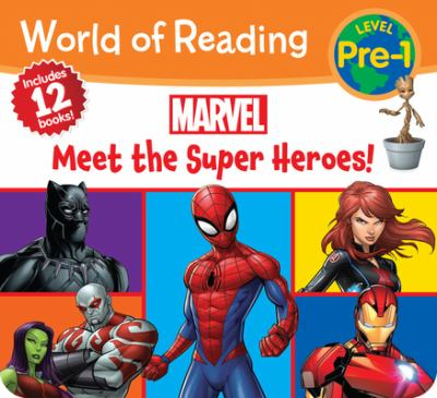 World of Reading Marvel Meet the Super Heroes! (Pre-Level 1 Boxed Set)