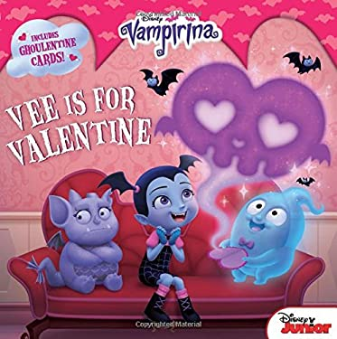 Vampirina Vee is for Valentine: 8x8 with Punch-out Cards