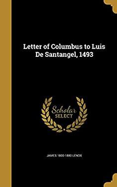 Letter of Columbus to Luis de Santangel, 1493