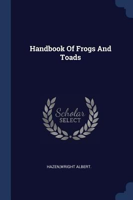 Handbook Of Frogs And Toads