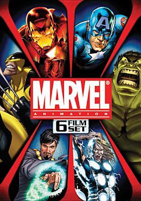 Marvel Animation 6 Film Set