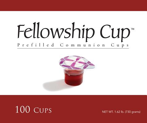 Fellowship Cup Communion Wafer & Juice 100pk 0081407011585