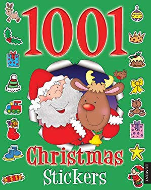 1001 Christmas Stickers 9781405262842