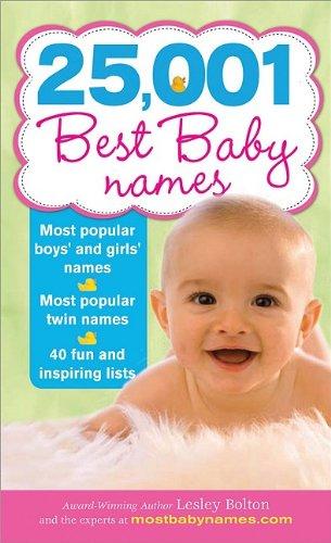 25,001 Best Baby Names 9781402226595