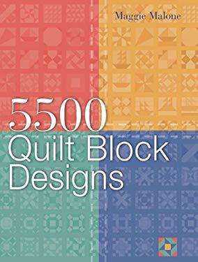 5,500 Quilt Block Designs 9781402720475