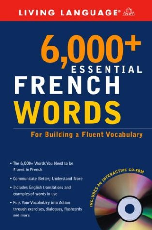6,000+ Essential French Words [With CDROM]